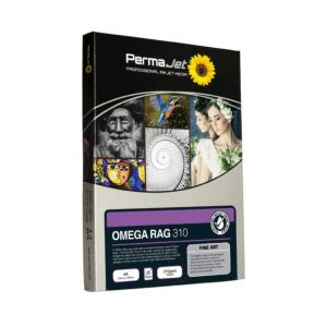 Permajet Fine Art Omega Rag 310 Printing Paper | 310 GSM | Sheets or Roll