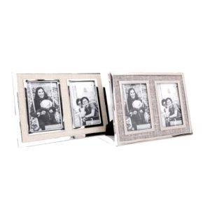 Double Fabric Photo Frame