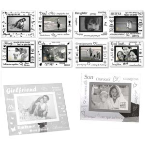 Sixtree Moments Mirror Photo Frame Collection - 6x4inch Photos