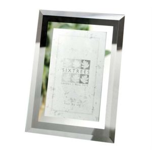Sixtrees Stanbridge Flat Bevelled Glass Photo Frames