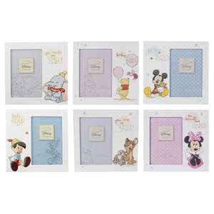 Disney Magical Beginnings Photo Frame Collection - 6x4 Inch Photo Frame - Self Standing