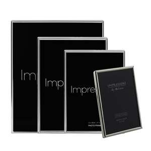 Impressions by Juliana | Silver Plated Photo Frame Collection | Thin Edged