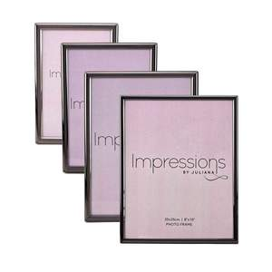 Impressions Thin Profile Pewter Finish Frames