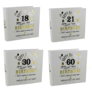 Signography Birthday Boy Photo Albums | Holds 80 6X4 Photos