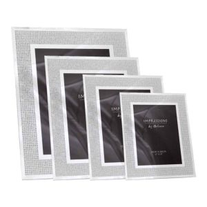 Glitter Crystal Photo Frame | Stands in Portrait Only