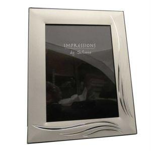 Grass Blade Silver Photo Frame
