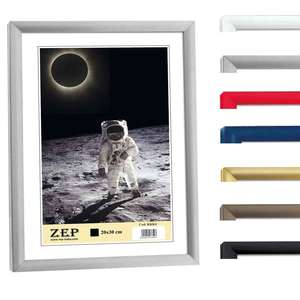 ZEP Basic Collection Photo Frame with 9x14mm Profile, Lots of Colours and Sizes