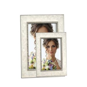 Botticelli Enamel Photo Frame | Metal Frame | Glass Front