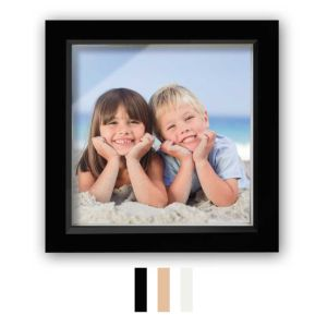 Wooden Deep Box Photo Frames | Glass Front | High-Quality Wood