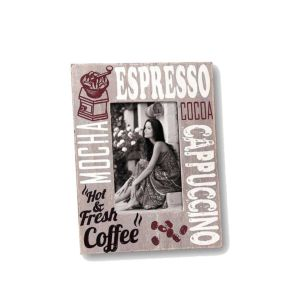 Coffee Wooden Photo Frame | Stands | High Quality Wood
