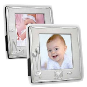 Cornice Silver Plated Photo Frame
