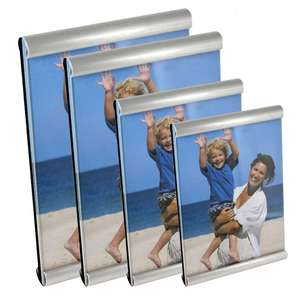 Double Bar and Glass Front Photo Frame Collection - Standing Frames