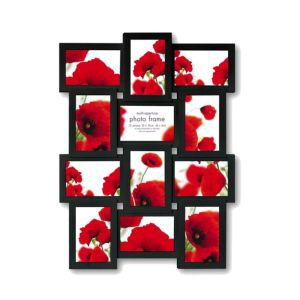 Extra Large Multi Aperture Photo Frame | Black or White