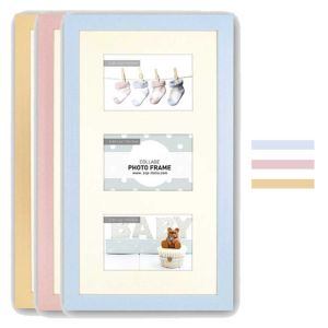 Emma Baby Photo Frames | Multi-Photo Frames | Card Insert