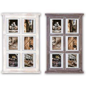Hampton Window Style Floating Multi Photo Frame