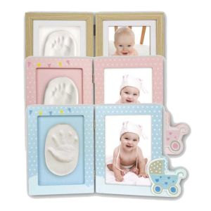 Baby Foot or Hand Impression Kit Photo Frame | Create Your Own Precious Impression