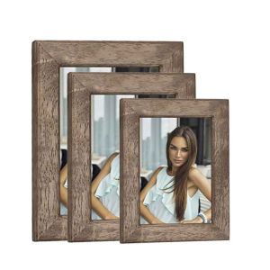 Lipari Wood Photo Frame | High Quality Wood | Wide Surround | Glass Front