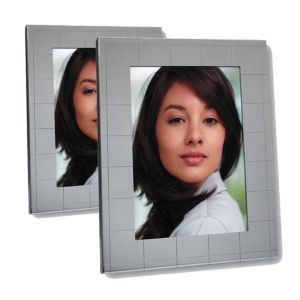 Laura Silver Square Photo Frame