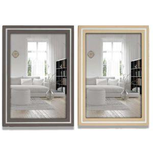 Paros Wooden Photo Frames | Grey or Beige | Glass Front | Genuine Wood