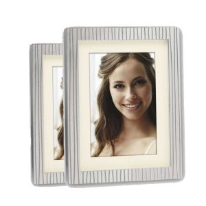 Paxi Silver Stripe Photo Frame