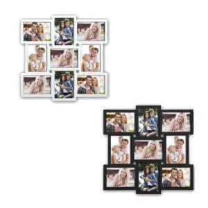 Santander Multi Aperture Photo Frame | Takes Nine 7X5 Photos