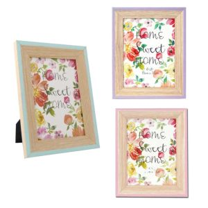 Spring Wooden Photo Frames | Glass Front | Stands or Hangs