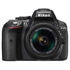 Nikon D5300 Black Digital SLR Camera Kit with 18-55mm G AF-P VR Lens