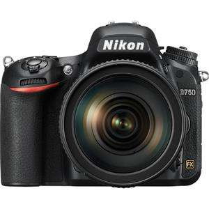 Nikon D750 Camera with 24-120mm F4 G ED VR Lens