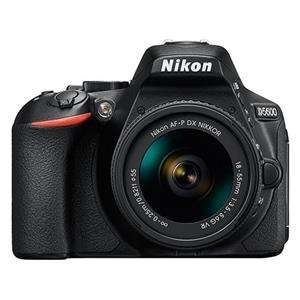 Nikon D5600 | 18-55mm Lens | 24.2 MP | APS-C CMOS Sensor | Full HD Video | Wi-Fi & Bluetooth