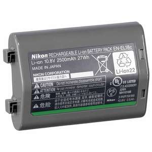 Nikon EN-EL18C Battery Li-Ion 10.8V 2500mAh