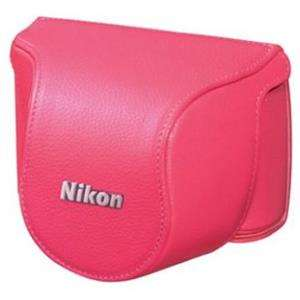 Nikon CB-N2000SK Pink Body Case Set for Nikon 1 J1 with 10mm