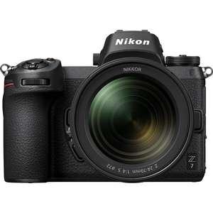 Nikon Z7 | 24-70mm Lens | 45.7 MP | Full Frame CMOS Sensor | 4K Video | Wi-Fi