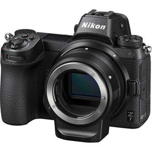 Nikon Z7 Camera with Mount Adapter