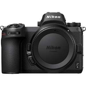Nikon Z6 | 24.5 MP | Full Frame CMOS Sensor | 4K Video | Wi-Fi & Bluetooth