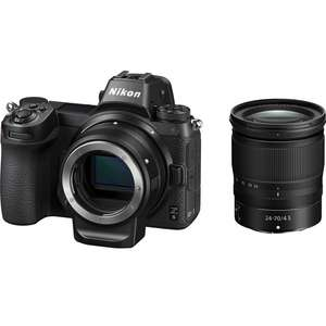 Nikon Z6 Camera with 24-70mm Lens & Mount Adapter