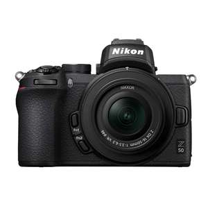 Nikon Z 50 | 16-50mm NIKKOR Z DX Lens | 20.9 MP | APS-C CMOS Sensor | 4K Video