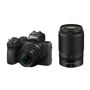 Nikon Z50 | 16-50mm & 50-250mm NIKKOR Z DX Lenses | 20.9 MP | APS-C CMOS Sensor | 4K Video