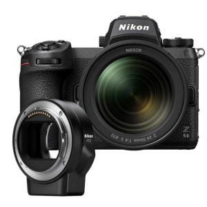 Nikon Z6 II Camera with 24-70mm F4 Lens & FTZ Mount Adapter