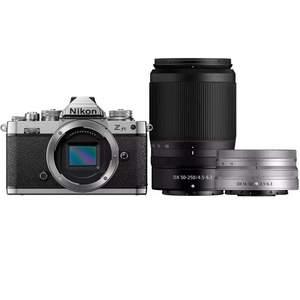 Nikon Z fc Camera with Z DX 16-50 mm f/3.5-6.3 Lens and Z DX 50-250 f/4.5-6.3 Lens