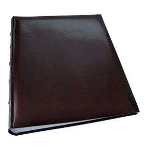 Walther Classic Extra Large Burgundy Traditional Photo Album - 80 Sides