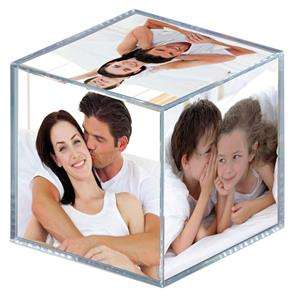 Walther Acrylic Photo Cube - 6 Photos