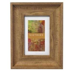 Alice Holt Wood Effect 6x4 Inch Photo Frame Overall Size Approx 9x7 Inch