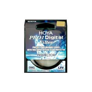 Hoya Pro-1 Protector Filters | Protects Against Dirt, Knocks & Scratches 77mm