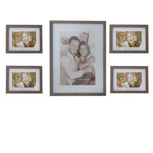 Gallery Frame Set Mixed Sizes 5 Piece Set