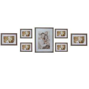 Gallery Photo Frame Collection in Brown