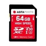 AgfaPhoto 64GB SDXC UHS-1 Class 10 Memory Card