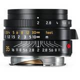 Leica Summicron 35mm F2 ASPH | Leica M Lens | Black | 11673