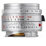 Leica Summicron-M 35mm f/2 ASPH Silver Lens 11674