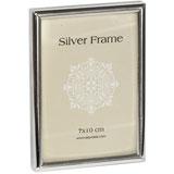 Narrrow Edge Silver 7x10cm Photo Frame