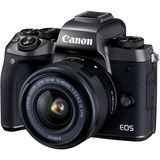 Canon EOS M5 | 15-45mm Lens | 24.2 MP | APS-C CMOS Sensor | Full HD Video | Wi-Fi & Bluetooth